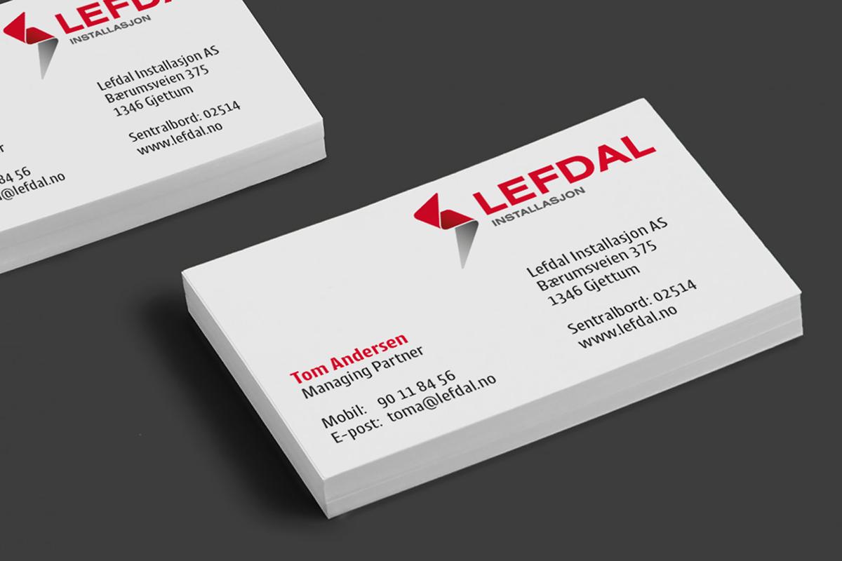 Lefdal Logo