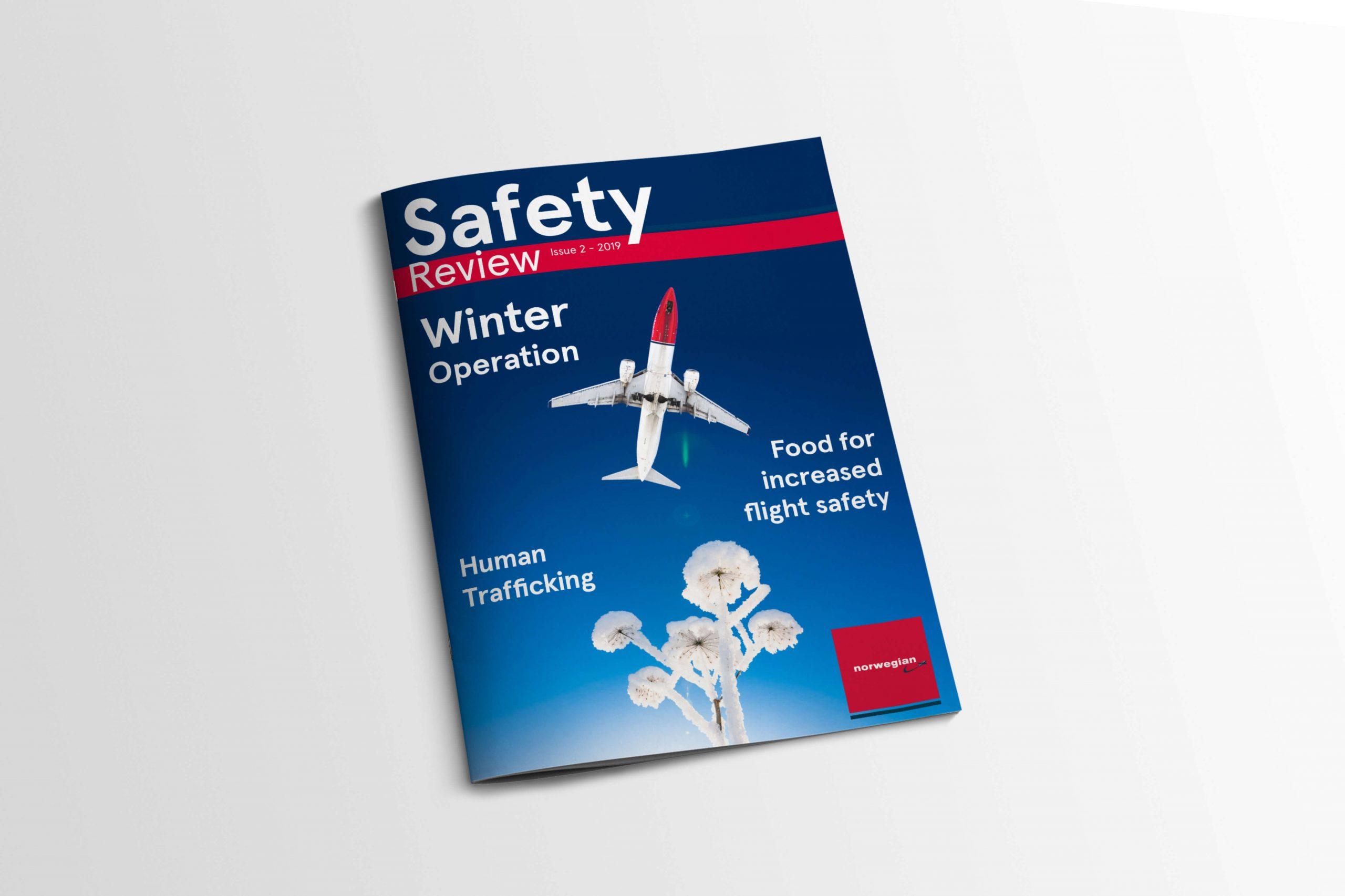 Norwegian Safety Review — et internmagasin produsert av Norwegian