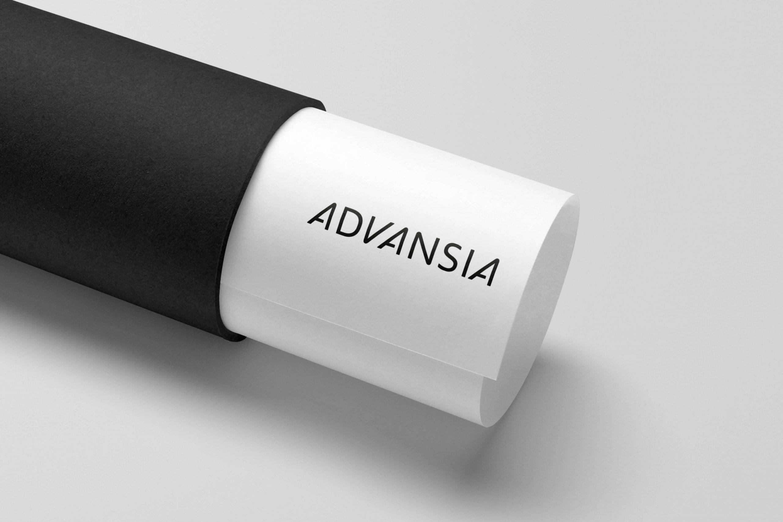 Grafisk profil for Advansia