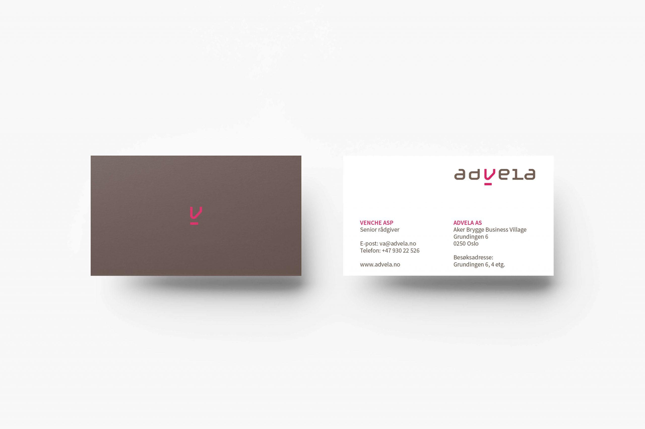 Grafisk profil for Advela