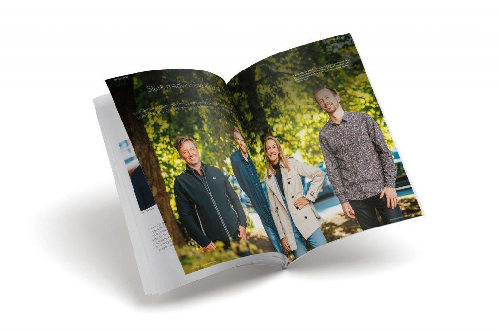 Grafisk design Ferdmagasinet