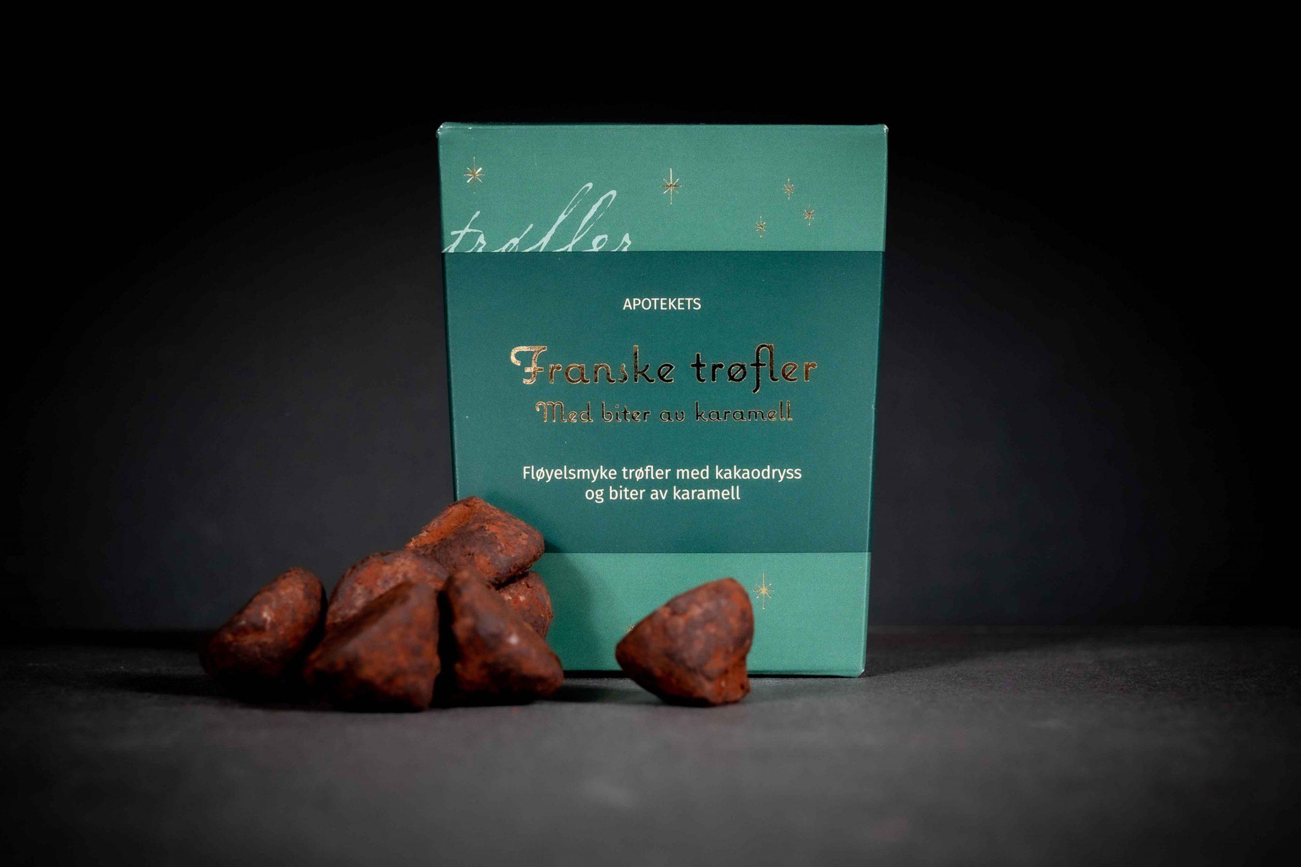 Emballasjedesign for gourmetprodukter