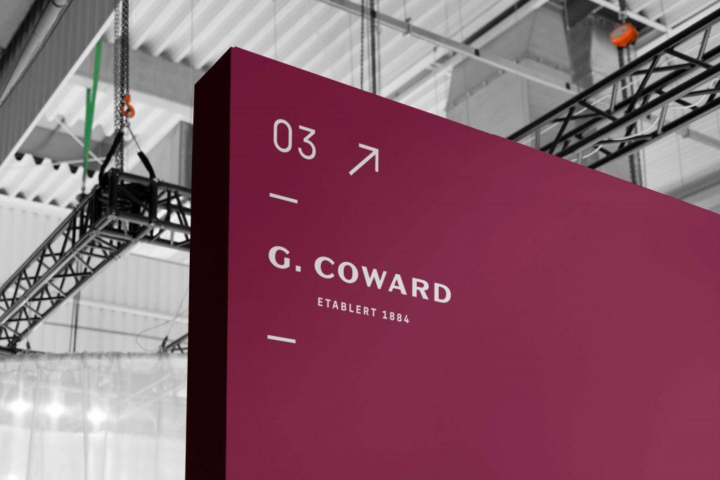 Grafisk profil for G. Coward